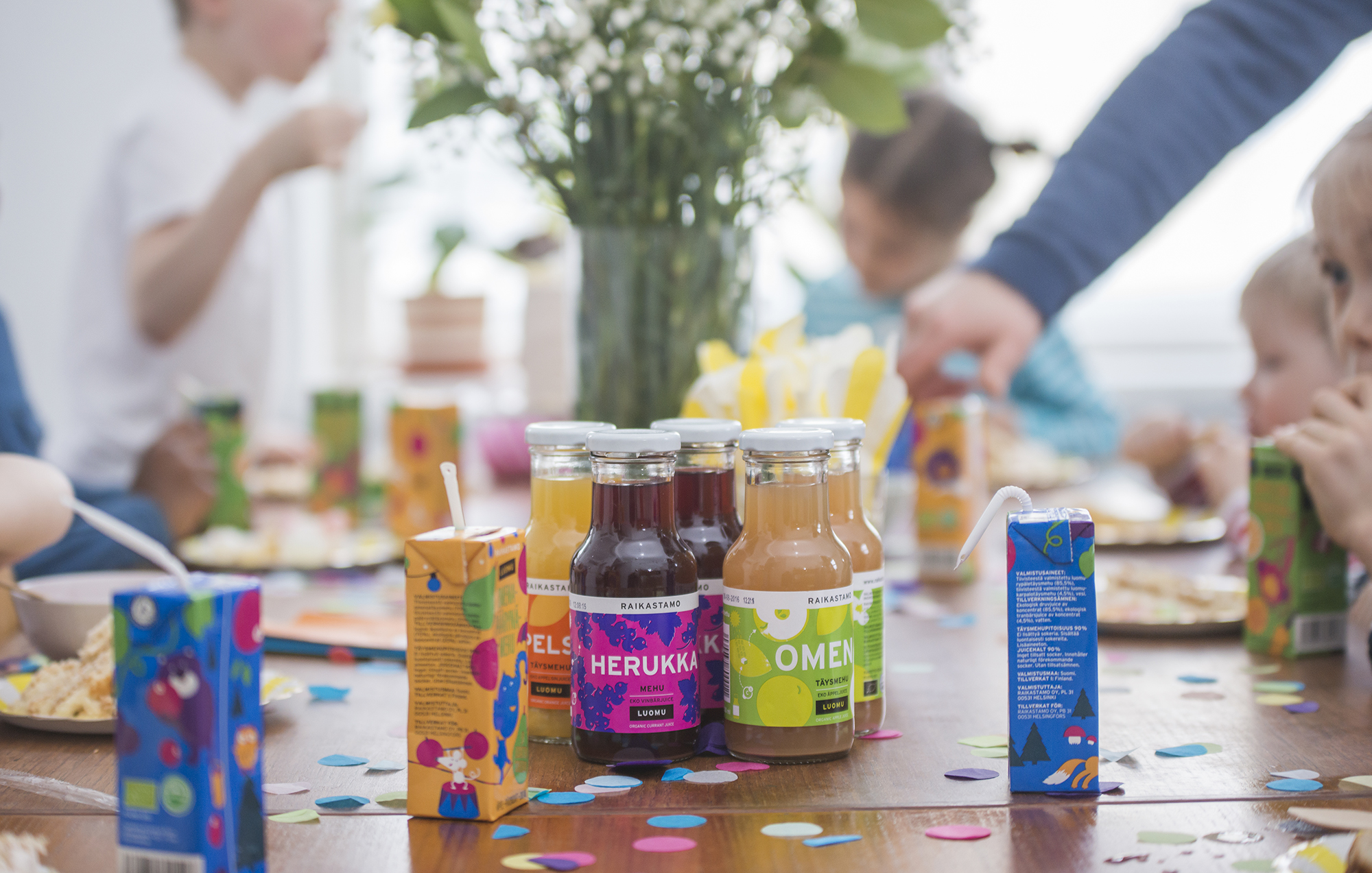 The market for organic fruit juices in the Nordic region is on fire